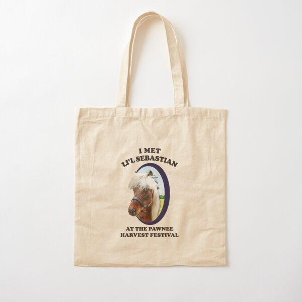 Lil Sebastian - Parks and Recreation Cotton Tote Bag
