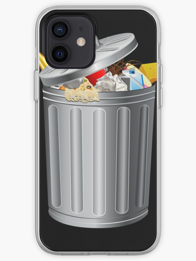 Trash Can drôle iPod / iPhone 5 cas / iPhone 4 cas   Coque iPhone