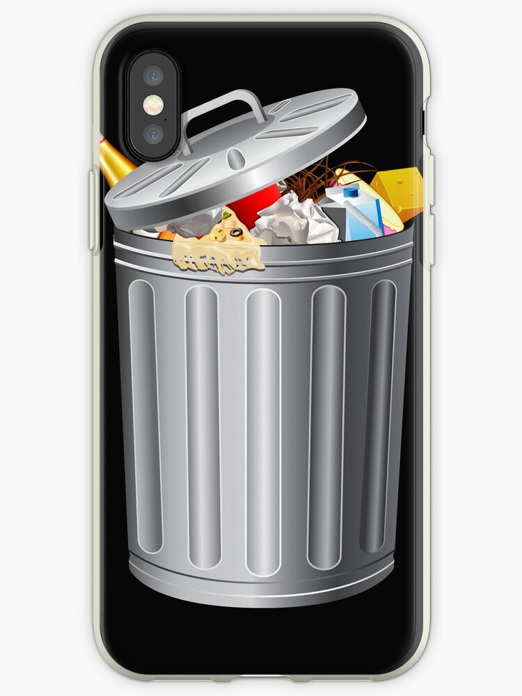 Trash Can Funny iPod / iPhone 5 Case / iPhone 4 Case  by CroDesign