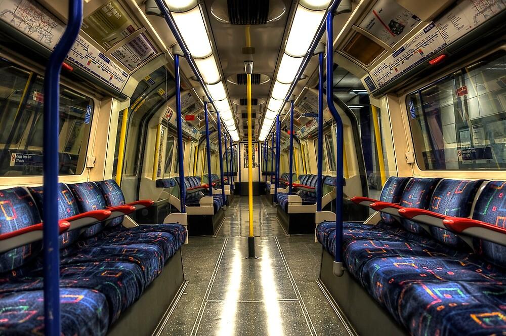 Inside Tube Train by Svetlana Sewell