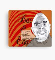 Bacon&Eggs Canvas Print
