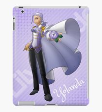 Yolanda, Purple Duelist iPad Case/Skin