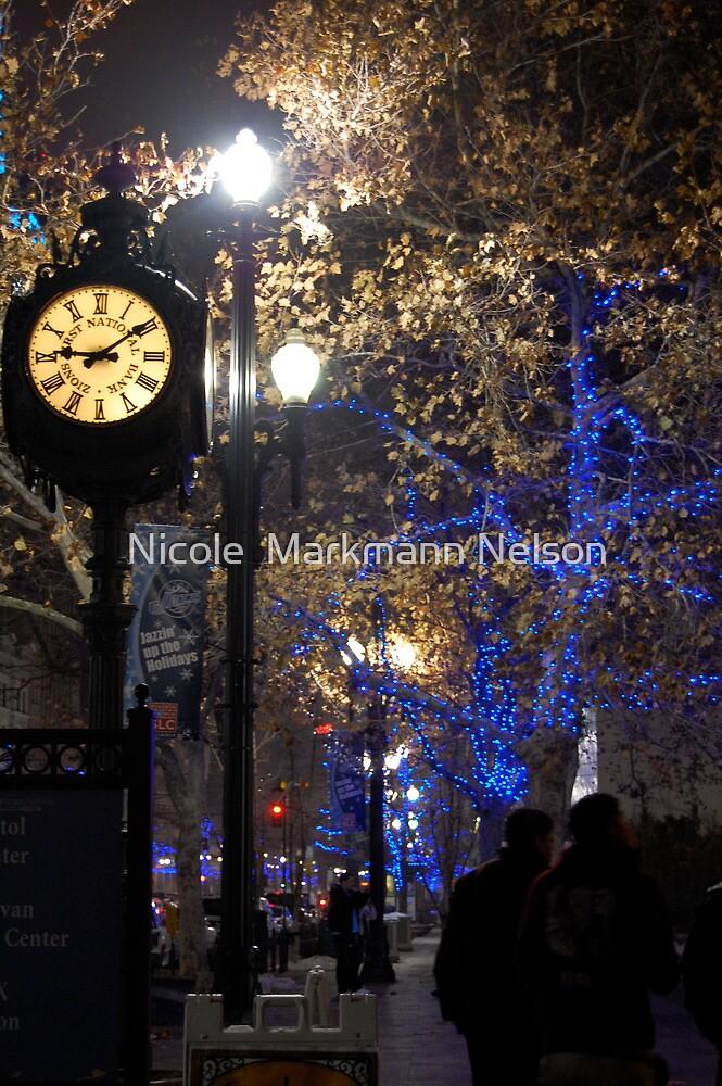 Clock by Nicole  Markmann Nelson