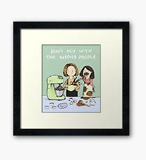 Baking Advice Framed Print
