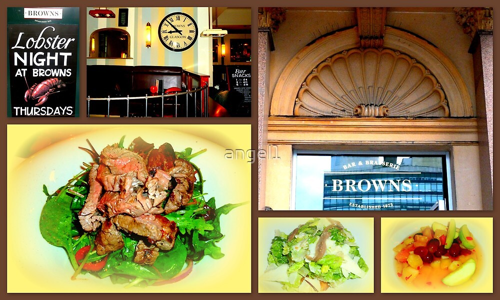Brown's Bar & Brasserie ~ Glasgow George Square by ©The Creative  Minds