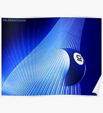 Ten Ball Wave Poster