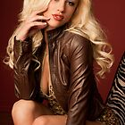 Courtney and Brown Leather by Swede