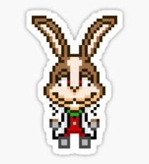 Peppy Hare - Star Fox Team Mini Pixel Sticker