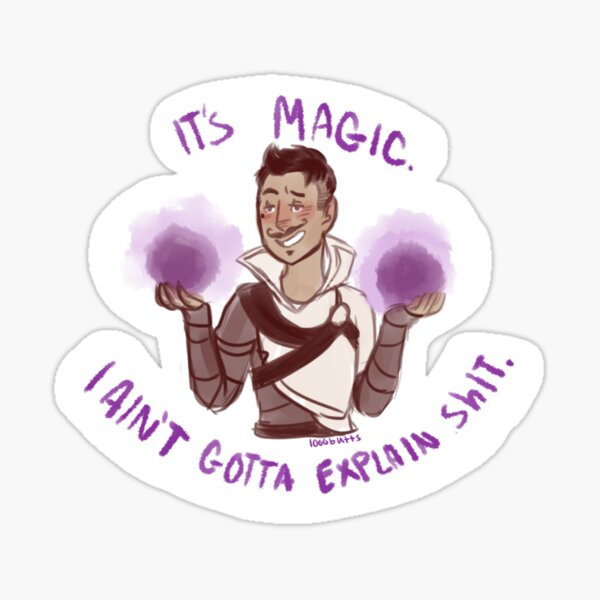 Dragon Age: Inquisition - Dorian's Magic Sticker