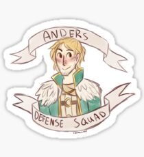 Dragon Age 2 - ANDERS DEFENSE SQUAD Sticker
