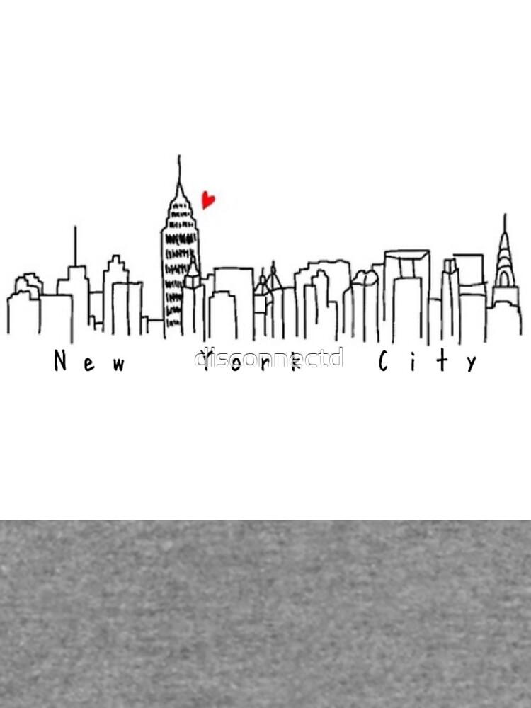 Nueva York de disconnectd