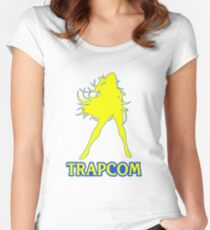 Trapcom Women's Fitted Scoop T-Shirt