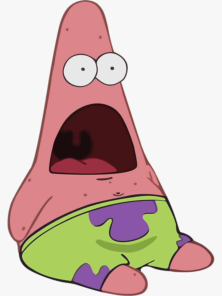 Surprised Patrick by memebubble