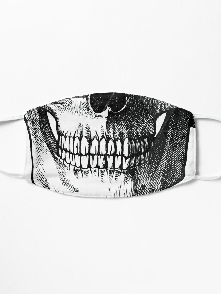 Alternate view of Dias de Los Geomuertos Mask