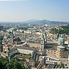 Salzburg Town, A Castles Perspective. by Maybrick