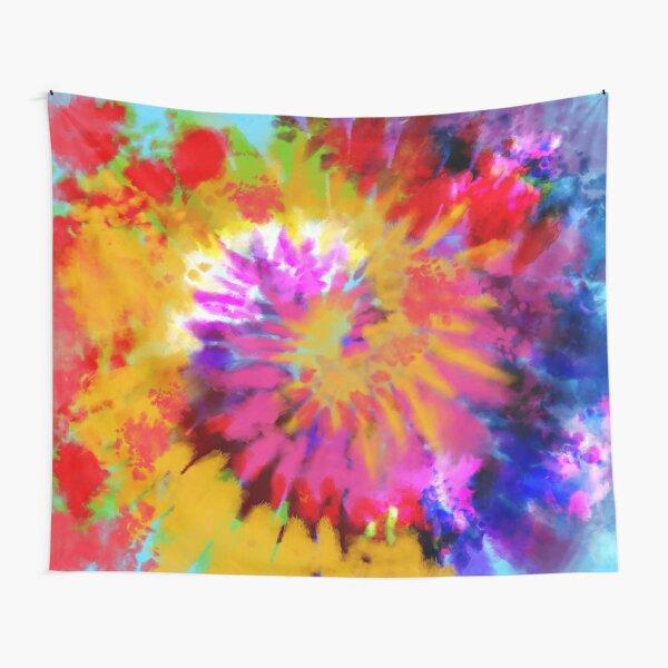 Spiral Spark Tapestry