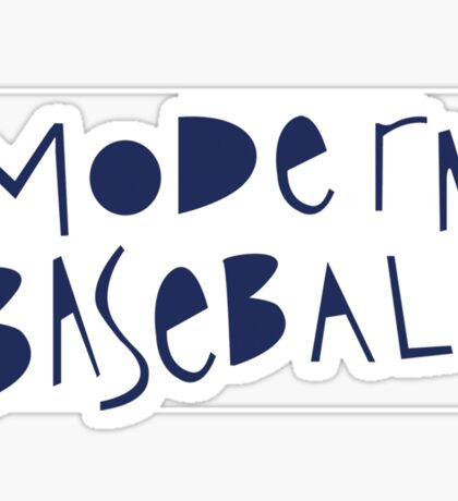 Modern Baseball Sticker