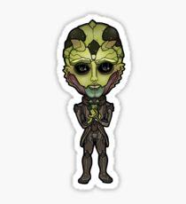 Mass Effect - Thane Krios Drell Assassin Chibi Sticker Sticker