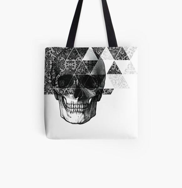 Dias de Los Geomuertos All Over Print Tote Bag
