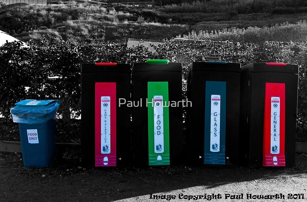 Reduce Reuse Recycle by Paul Howarth