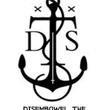 Disembowel The Sea Monster Poster 1 by HumorlessMilk
