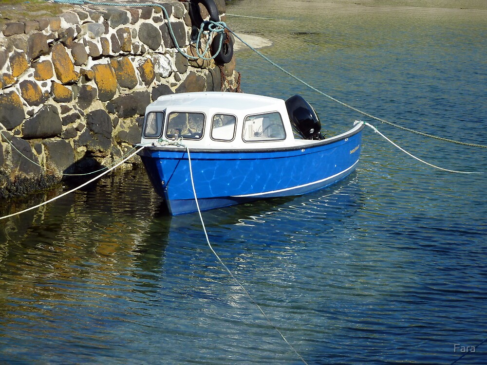 Blue And Anchored by Fara