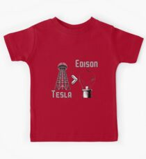 Tesla superiority Kids Clothes