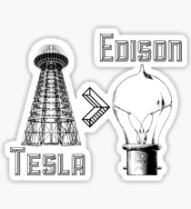 Tesla superiority Sticker