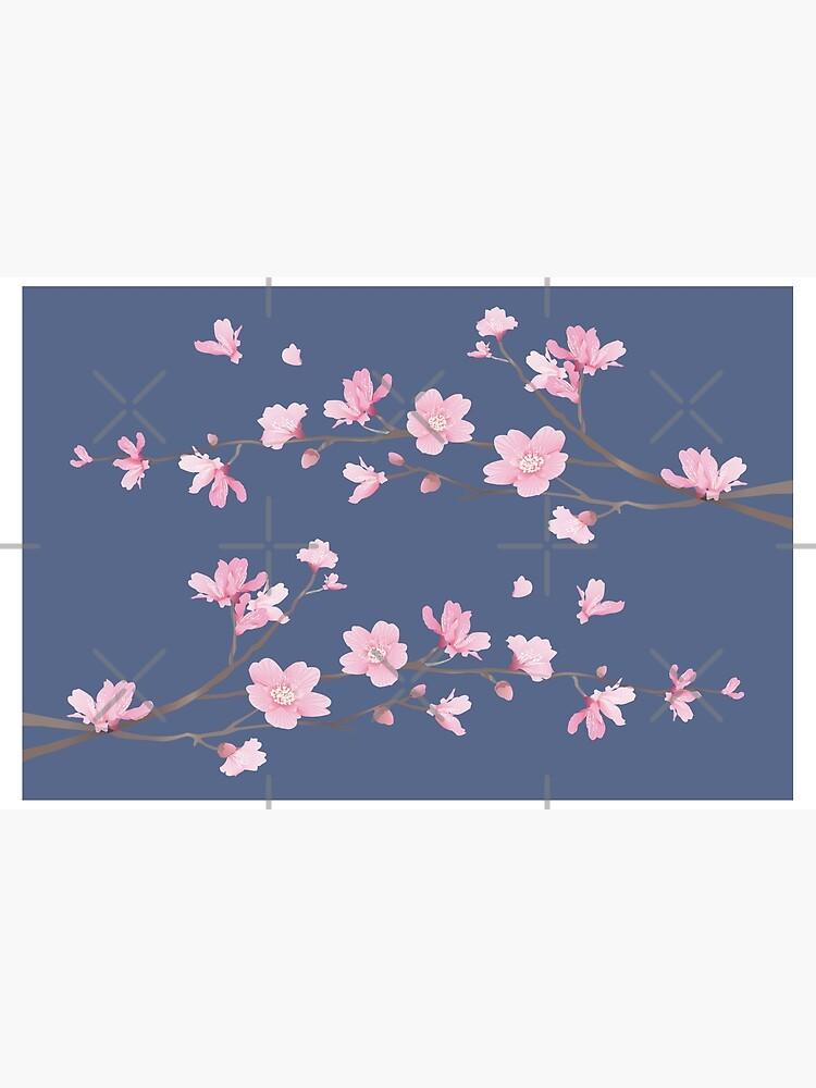 Cherry Blossom - Denim de designenrich