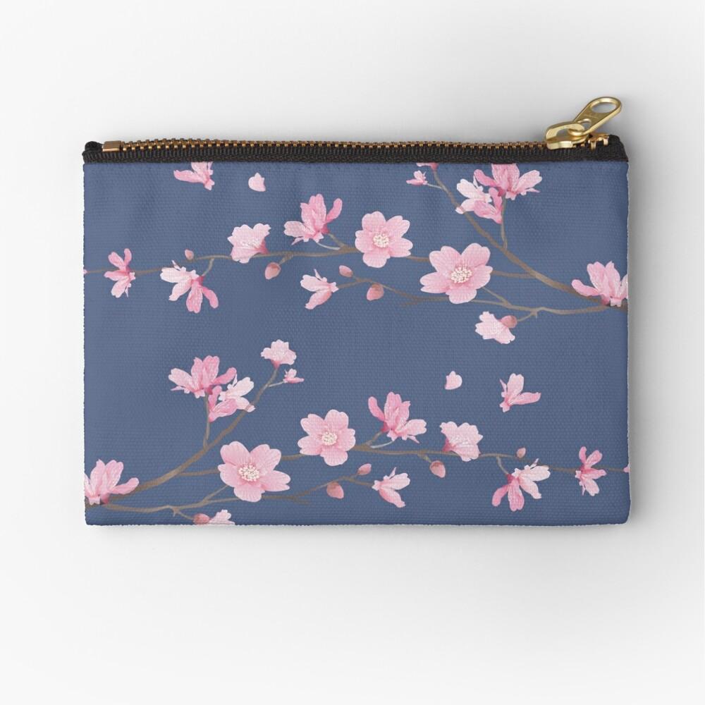 Cherry Blossom - Denim Bolsos de mano