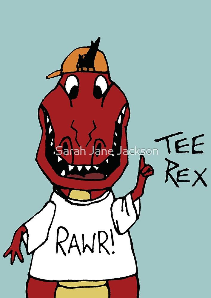 TEE REX COLOUR by Sarah Jane Jackson