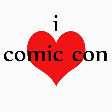 I love Comic Con by buffysummers