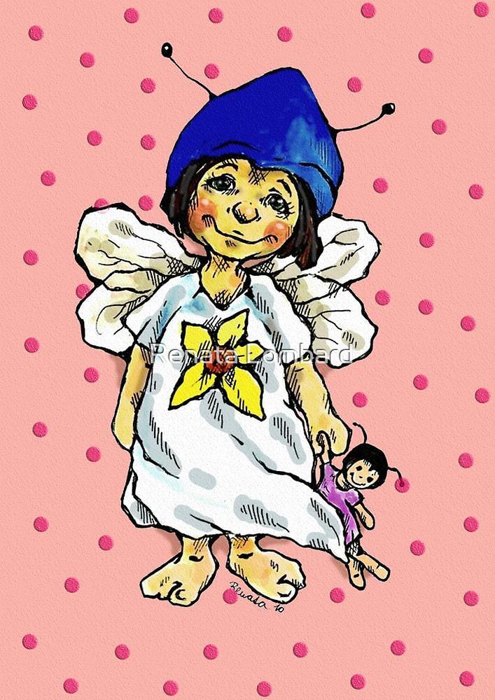 sweet-heart fairy by Renata Lombard