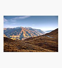 The View from Crown Peak Photographic Print