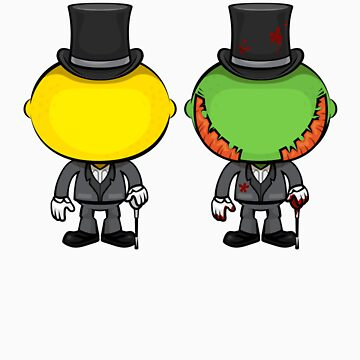 Dr. Lemon & Mr. Lime by wickedstudios