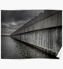 Lake Borgne Surge Barrier Poster