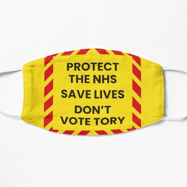 Protect the NHS - Don't vote Tory Mask