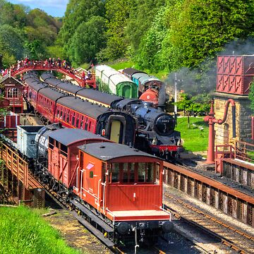 Trains at Goathland Station by tomg