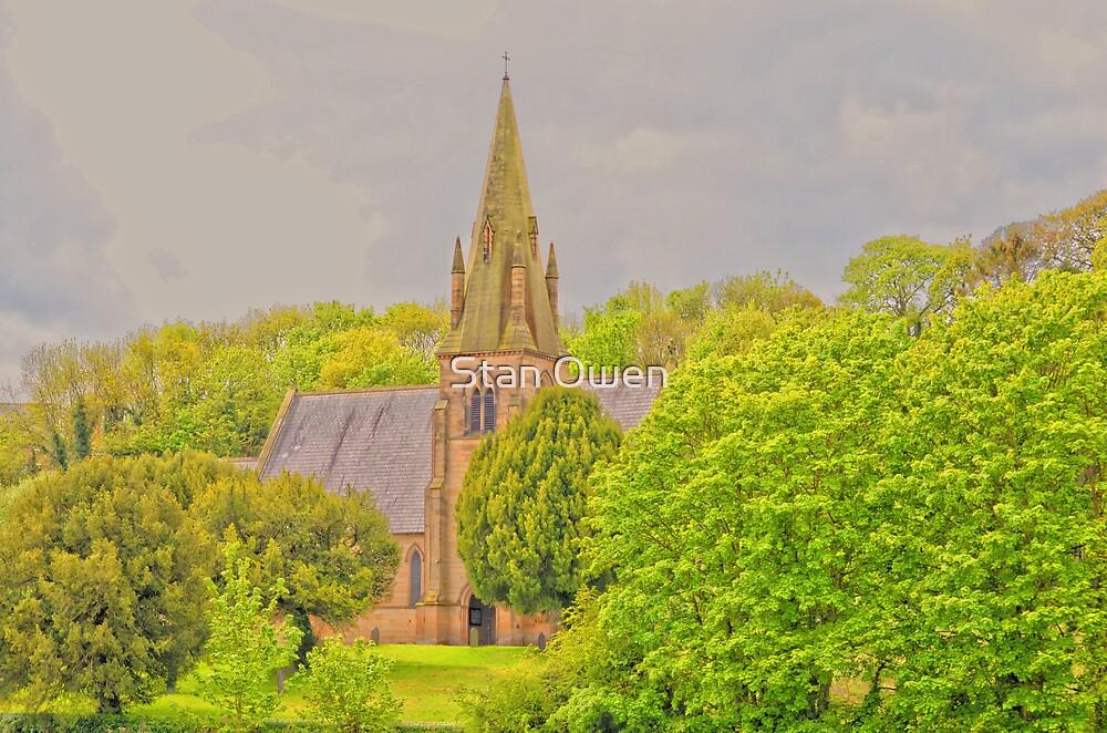 Church At Mostyn by Stan Owen