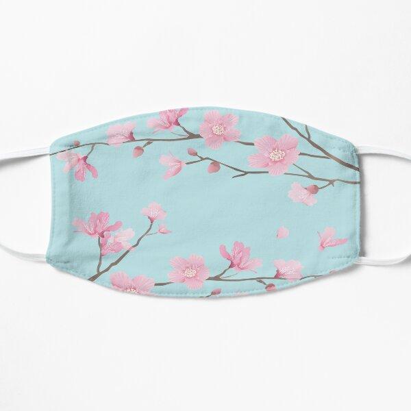 Cherry Blossom - Duck Egg Blue Mask