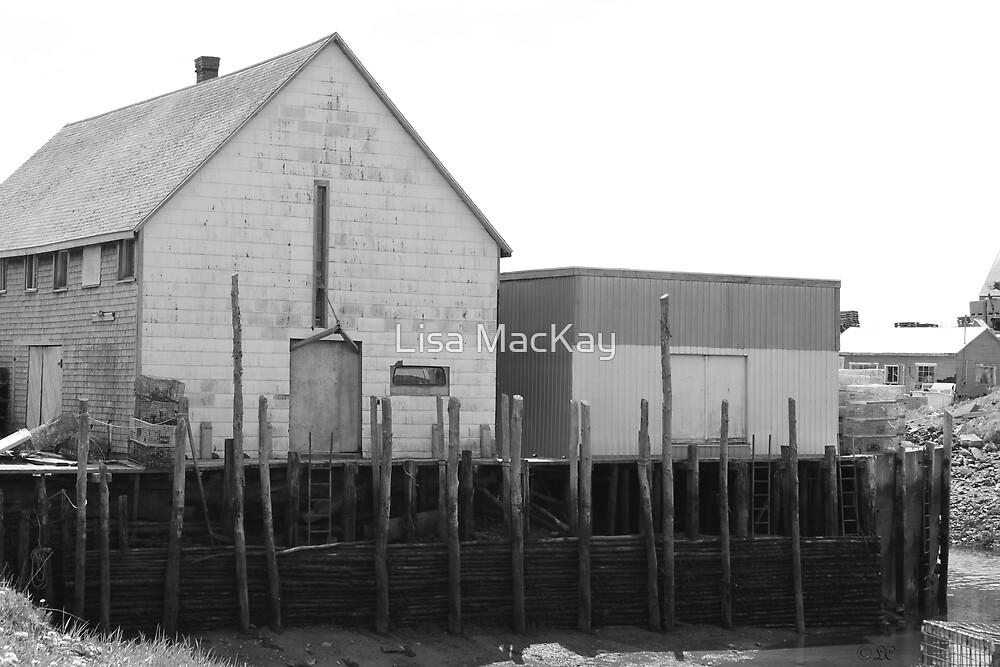 Wharf/Buildings by Lisa MacKay