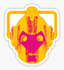 Psychedelic Cyber Up Grade  Sticker