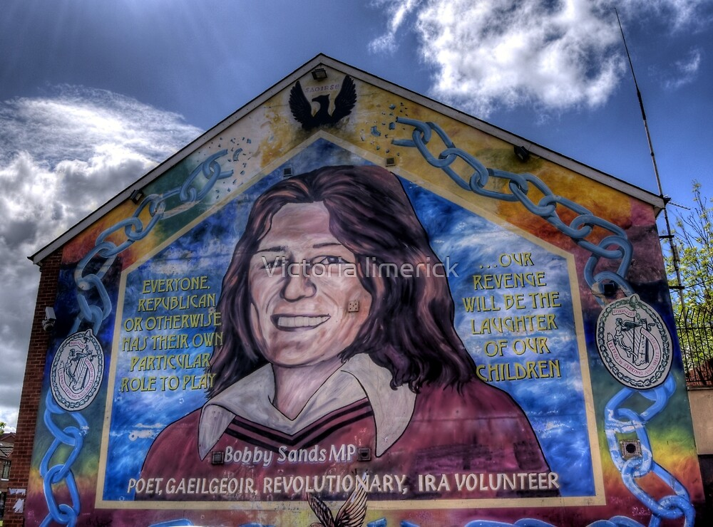 Bobby Sands - Belfast by Victoria limerick