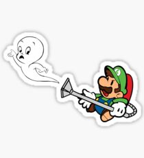 Luigi V Casper Sticker