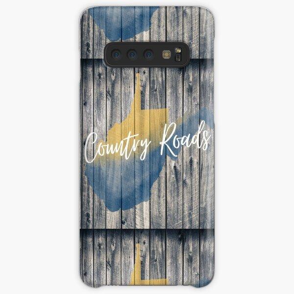 Country Roads West Virginia Barn Wall Art Samsung Galaxy Snap Case