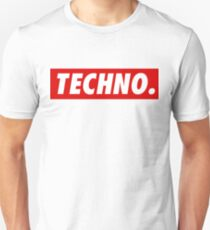 Techno. Unisex T-Shirt