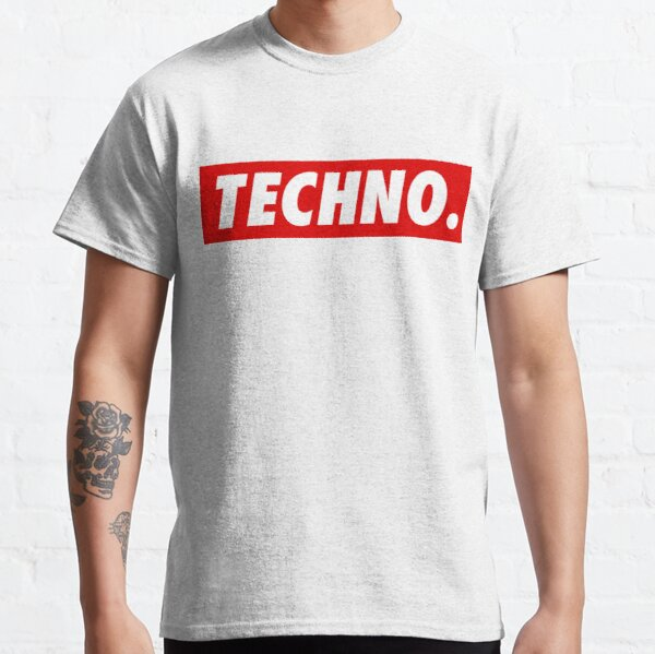 Techno. T-shirt classique