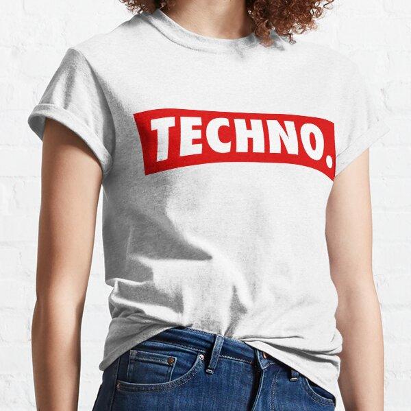 Techno. Camiseta clásica
