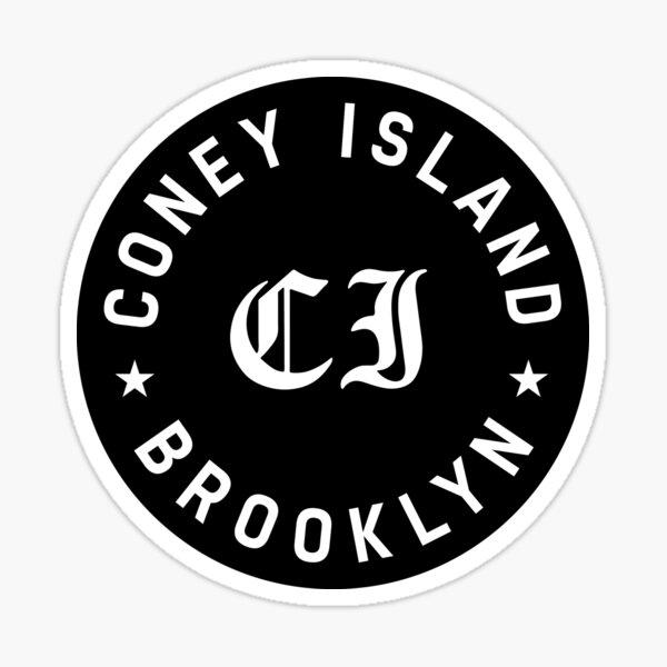 Coney Island Sticker