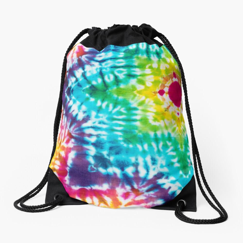 Tye Dye 7 Drawstring Bag